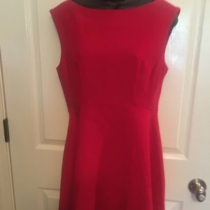 French connection classic red dress
